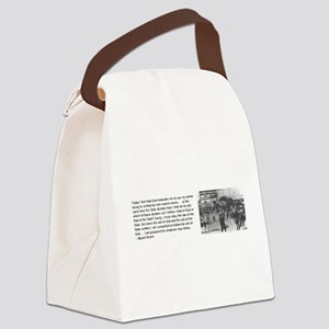 Bayard Rustin Canvas Lunch Bag