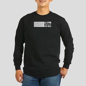 Bayard Rustin Long Sleeve Dark T-Shirt