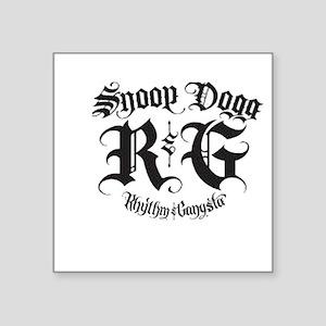 "snoop dogg Square Sticker 3"" x 3"""