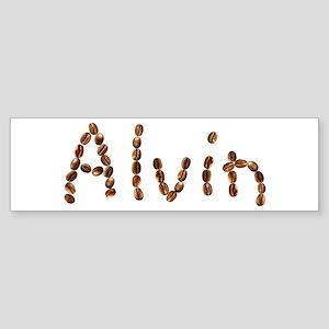 Alvin Coffee Beans Bumper Sticker