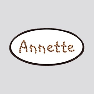 Annette Coffee Beans Patch
