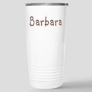Barbara Coffee Beans Stainless Steel Travel Mug