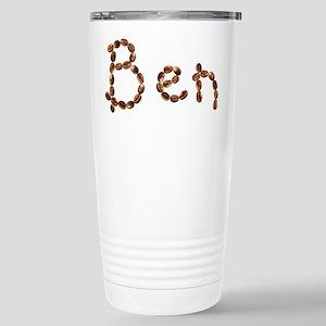 Ben Coffee Beans Stainless Steel Travel Mug