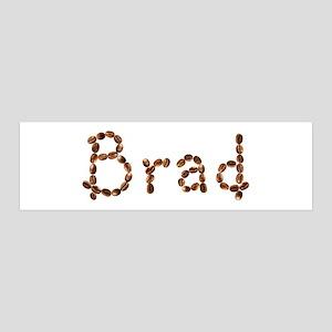 Brad Coffee Beans 36x11 Wall Peel