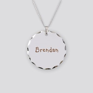Brendan Coffee Beans Necklace Circle Charm
