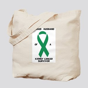 Proud Husband of Kidney Cancer Survivor Tote Bag