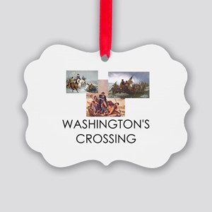 ABH Washington's Crossing Picture Ornament