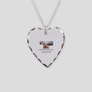 ABH Washington's Crossing Necklace Heart Charm