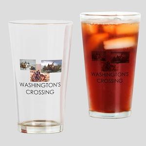ABH Washington's Crossing Drinking Glass