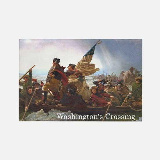 ABH Washington's Crossing Rectangle Magnet