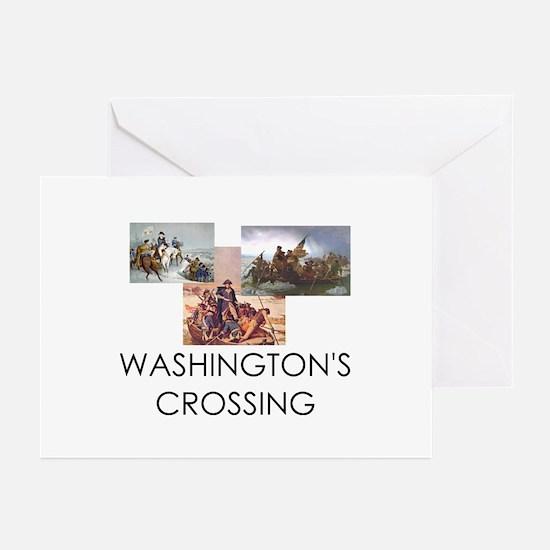 ABH Washington's Crossin Greeting Cards (Pk of 20)