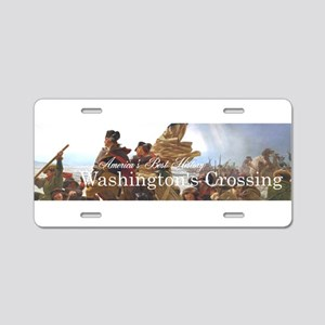 ABH Washington's Crossing Aluminum License Plate