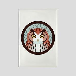 Eastern Screech Owl Rectangle Magnet