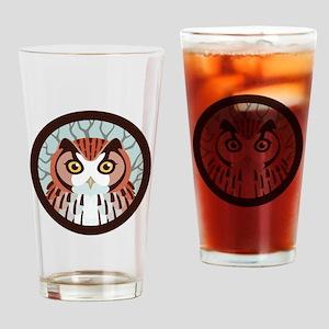 Eastern Screech Owl Drinking Glass