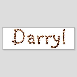 Darryl Coffee Beans Bumper Sticker