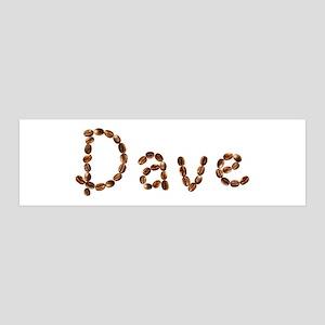Dave Coffee Beans 36x11 Wall Peel