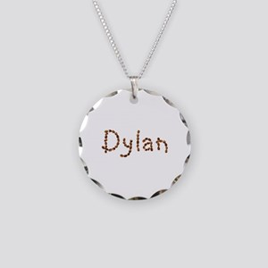 Dylan Coffee Beans Necklace Circle Charm
