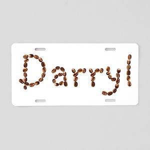 Darryl Coffee Beans Aluminum License Plate