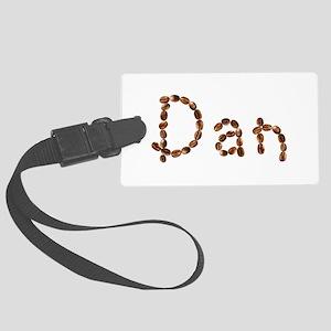 Dan Coffee Beans Large Luggage Tag