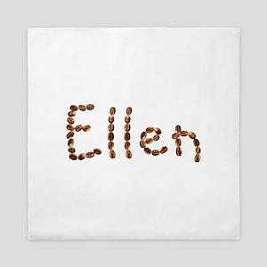 Ellen Coffee Beans Queen Duvet