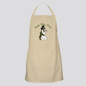 Real Men Pray Apron