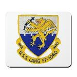 USS LANG Mousepad