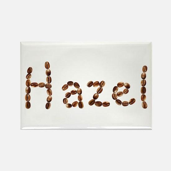Hazel Coffee Beans Rectangle Magnet