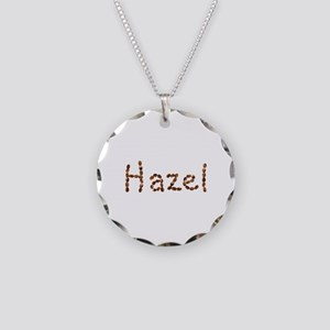 Hazel Coffee Beans Necklace Circle Charm