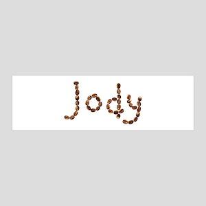 Jody Coffee Beans 36x11 Wall Peel