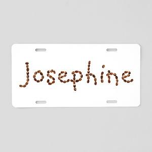 Josephine Coffee Beans Aluminum License Plate