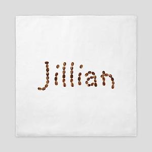 Jillian Coffee Beans Queen Duvet