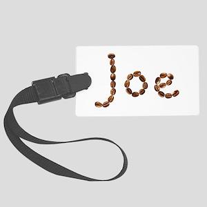 Joe Coffee Beans Large Luggage Tag