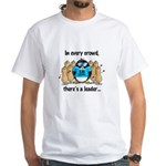In Every Crowd Penguin White T-Shirt