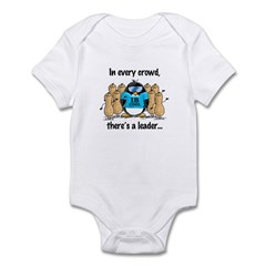 In Every Crowd Penguin Infant Bodysuit