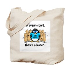 In Every Crowd Penguin Tote Bag