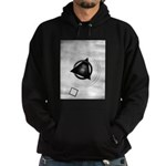 Point To The Moon Hoodie (dark)