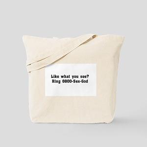 Call me, ladies Tote Bag