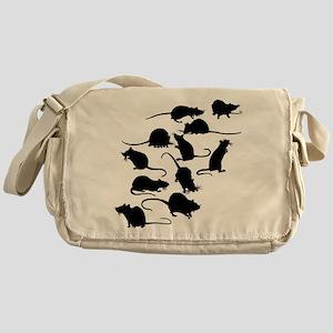 Lots Of Rats Messenger Bag