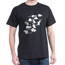 Lots Of Rats Dark T-Shirt