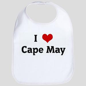 I Love Cape May Bib