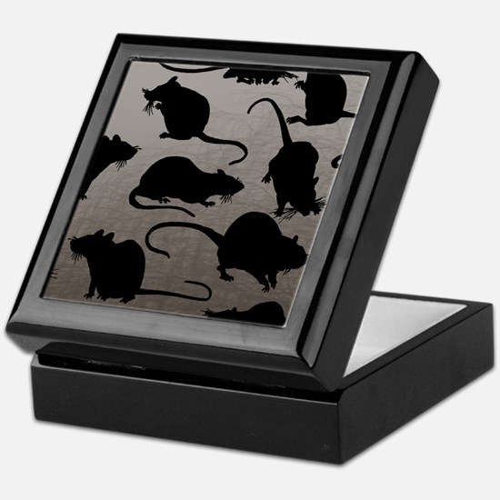 Lots Of Rats Keepsake Box