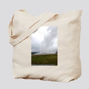 Old Faithful Yellowstone National Park Tote Bag