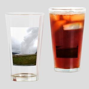 Old Faithful Yellowstone National Park Drinking Gl