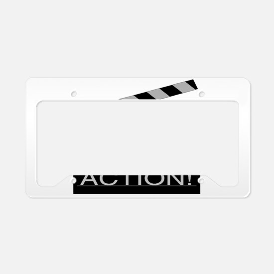 Cute Actor License Plate Holder