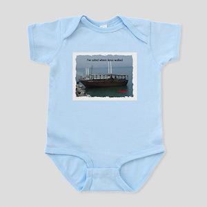 I've Sailed Where Jesus Walked Infant Bodysuit
