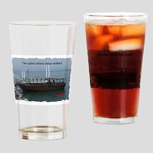 I've Sailed Where Jesus Walked Drinking Glass
