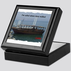 I've Sailed Where Jesus Walked Keepsake Box