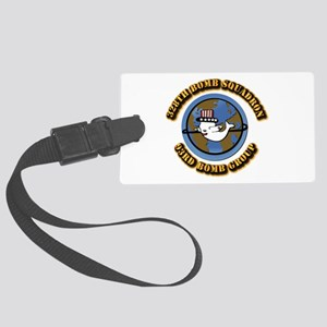 AAC - 328th BS,93rd BG Large Luggage Tag