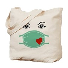 Hospital Mask Tote Bag