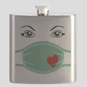 Hospital Mask Flask